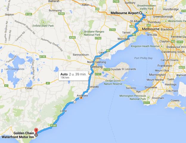 Melbourne - Apollo Bay