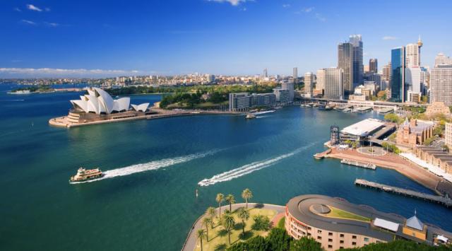 Sydney Harbour & Opera House