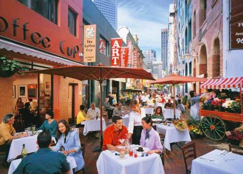 Melbourne sfeer