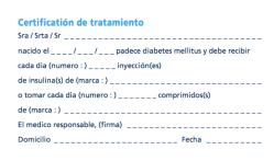 Diabetesverklaringen