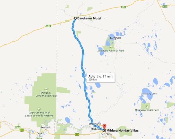 Broken Hill - Mildura