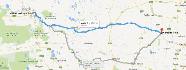 Mildura - Broken Hill
