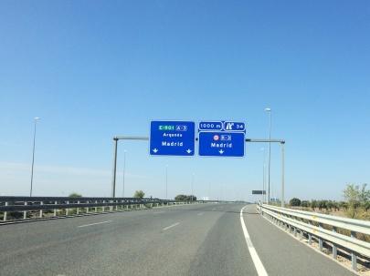 Op weg naar Madrid