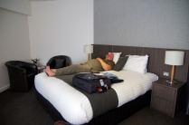 Even het bed testen