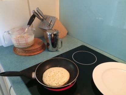 Pancakes for brekkie