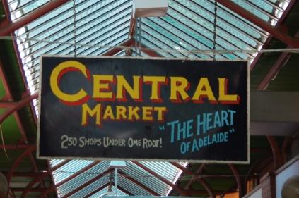 In Adelaide naar de markt