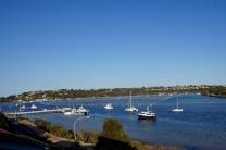 Uitzicht op de haven