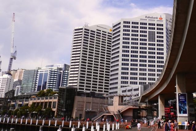De Rabobank aan de haven