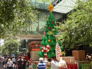 Kerstboom van lego