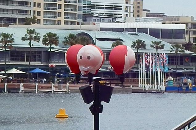 Kerstmis bij Darling Harbour