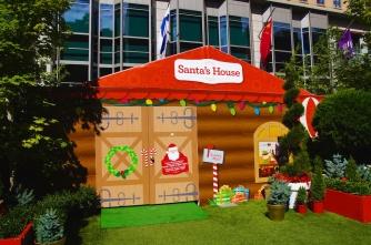 Santa is niet thuis